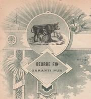 Facture SIMONET / Laiterie De LEFFOND Par Champlitte 70 / Beurre Fin / Commande De Cancoillotte - France