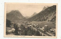 Cp , 74, VALLORCINE , La Vallée , Voyagée - France