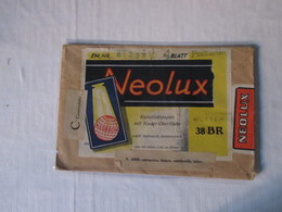 NEOLUX Kunstllichpapier Raster  Neobrom Busta Cartoncino Bianco Semilucido Per FOTO - Altri