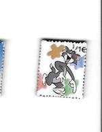 Féve  Forme  Timbre 1 €, BD  Verso TOM,  TM & Warner  Bros - Strips