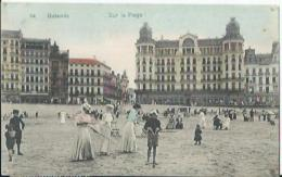 Ostende - Oostende - 14 - Sur La Plage - 1909 - Oostende