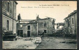 CPA - La Grande Guerre 1914-1915 - SAMPIGNY - Place De La Mairie - Guerre 1914-18