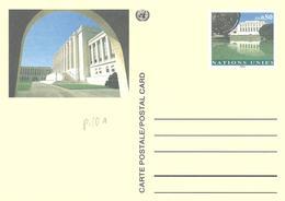 Nations Unies Bureau Genève United Nation Genf Entier Postal, Ganzsachen, Postal Stationery Carte Postale Postkarten - Genf - Büro Der Vereinten Nationen