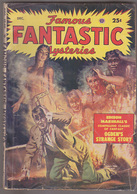 C1 FAMOUS FANTASTIC MYSTERIES 12 1949 SF Pulp LAWRENCE Finlay BUCHAN O Brien BE - Science Fiction