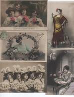LOT DE    102    CPA  FANTAISIES FEMMES - 100 - 499 Karten