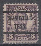 USA Precancel Vorausentwertung Preo, Bureau Tennessee, Nashville 635-43 - Vereinigte Staaten