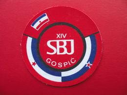 XIV SBJ GOSPIC - Escudos En Tela