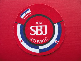 XIV SBJ GOSPIC - Ecussons Tissu