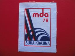 MDA 78,SUHA KRAJINA - Ecussons Tissu