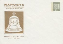 B PU 29/6a**  NAPOSTA - Nationale Popstwertzeichen-Ausstelleung Berlin 1963 - Berlin (West)