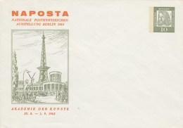 B PU 29/7**  NAPOSTA - Nationale Popstwertzeichen-Ausstelleung Berlin 1963 - Berlin (West)