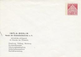B PU 38/2 **  INFLA -bERLIN - Verein Der Deutschlandsammler E.V. - Berlin (West)