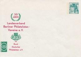 B PU 70/2**   30 Jahre Landesverband Berliner Philatelisten Vereine E.V. Im BDV E.V. - Berlin (West)