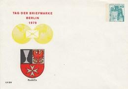 B PU 70/11**  Tag Der Briefmarke Berlin 1979 - Neukölln - Berlin (West)