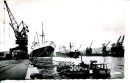"""N°63127 -cpsm Rouen -le Port- Le """"Redon"""" à Quai- - Commerce"""