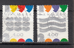 Denemarken 1999 Mi Nr 1231 - 1232 Overgang Naar 2000 -2 - Gebraucht