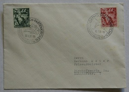 DR Sammelbrief SST Garmisch Partenkirchen-Intenaz.Wintersportwoche 1938 (LS37 - Winter 1936: Garmisch-Partenkirchen