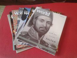LOT DE 8 REVISTAS SAUDI ARAMCO WORLD ISLAM AMÉRICA CHINA MIDDLE EAST DOHA ARABIA MOROCCO AL ANDALUS MUSLIN.... MAGAZINE - Livres, BD, Revues