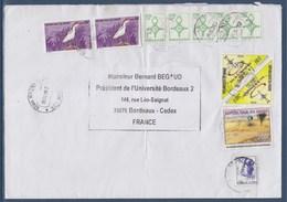 Enveloppe 11 Timbres, Du Niger 11.01.07 à Destination France - Niger (1960-...)