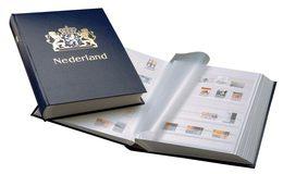 DAVO STOCKBOOK NETHERLANDS - Formato Grande, Sfondo Bianco
