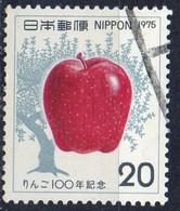 PIA - JAP - 1975  - Centenario Della Introduzione Delle Mele In Giappone - (Yv  1168) - Frutta