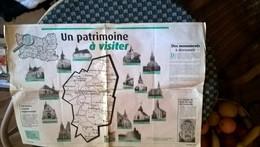 60 Crevecoeur Le Grand  Et Environs Double Page Juin 2004 Un Partimoine A Visiter - Reclame