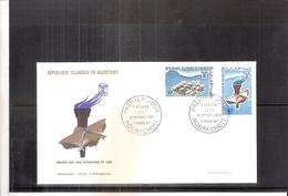 JO Grenoble 1968 - FDC Mauritanie - Winter 1968: Grenoble