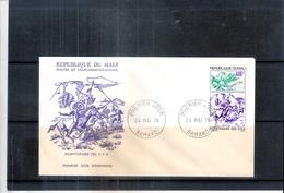 Indiens - Bicentenaire Des USA -  FDC Mali (à Voir) - American Indians