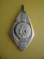 Medaille Argentée Sport Judo ASAS Championnat Individuel JUNIORS 1955 Casablanca Maroc - Autres