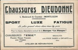 03   MONTLUCON -  BUVARD  CHAUSSURES DIEUDONNE , 1, Boulevard De Courtais - Textile & Clothing