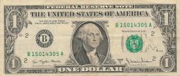 BILLET : ETATS-UNIS, AMERIQUE, USA, Billet 1 $ Dollar, Série 1977 A (B), H 2124 - Federal Reserve Notes (1928-...)