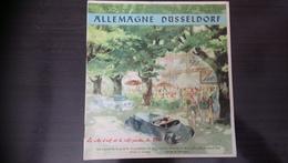 Allemagne Dusseldorf 1937 - Plan De La Ville - Dépliants Touristiques