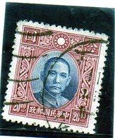B - 1939 Cina - Dr, Sun Yat Sen - 1912-1949 República