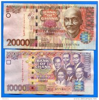 Ghana  4  Billets - Ghana