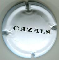 CAPSULE-CHAMPAGNE CAZALS N°18d Blanc & Noir - Champagnerdeckel