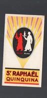 Calendrier 1928 ST RAPHAEL  Carte Parfumée ROYAL RUBIS  (PPP13772) - Calendriers