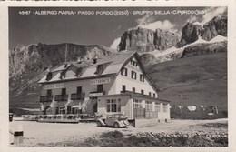 PASSO PORDOI-CANAZEI-TRENTO-ALBERGO=MARIA=-CARTOLINA VERA FOTOGRAFIA-VIAGGIATA IL 17-8-1939 - Trento