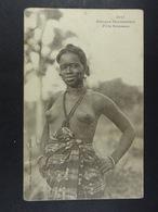 Lot De 7 CPA De Femmes Aux Seins Nus - Afrique