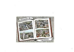 Carte Postale Troyes (10) Souvenir De Troyes Multi-vues - Troyes