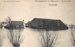 Hulst  Watersnood In Zeeland    Hontenisse  Maart 1906   Overstroming Boerderij Schuur   Nederland Zeeland        X 3818 - Hulst