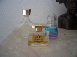 Lot 3 Miniatures Vides (Mademoiselle Ricci - Joy De Patou - Beyond Paradise) - Modern Miniatures (from 1961)