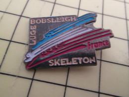 413B Pin's Pins / Rare Et De Belle Qualité !!! THEME : SPORTS / BOBSLEIGH LUGE SKELETON FRANCE - Fencing