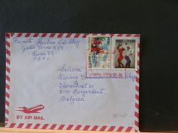 78/068    LETTRE PERU  POUR LA BELG. - Peru