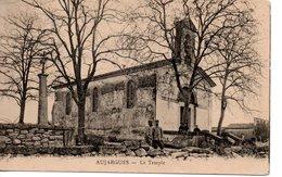 30 AUJARGUES TEMPLE RELIGION EGLISE REFORMEE - Aigues-Mortes