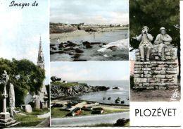 N°6317 GF -cpsm Images De Plozevet -multivues- - Plozevet