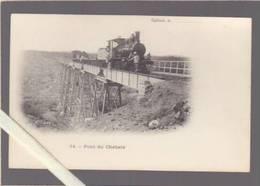 Somalie - Djibouti - Chemin De Fer - Train Arrete Sur Le Pont Du Chebele - Precurseur - Somalie