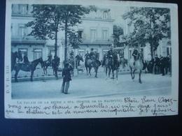 Spa : Palais De La Reine, Sortie De Sa Majesté La Reine  En 1899 - Blegny