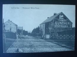 SART-lez-SPA  En 1907 : Restaurant WILKIN-PAULY Et Passage à Niveau - Blegny