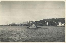 BELLE CARTE PHOTO HYDRAVION A KAROUBA - TUNISIE - - 1919-1938: Interbellum