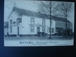SART-lez-SPA  En 1912 : Restaurant Des Voyageurs - Blegny